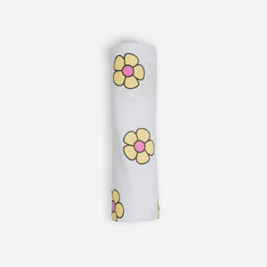 Flower Power I - Sunshine Yellow and Pink Uno (Swaddle)