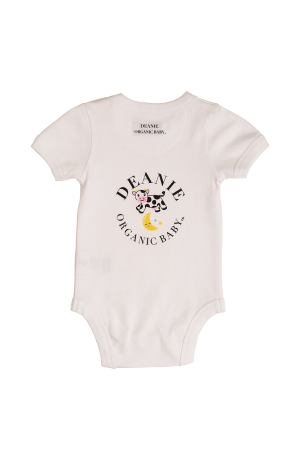Cow Jumping the Moon Logo Bodysuit