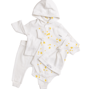 Cow Jumping the Moon Logo Outfit - 4 Pieces