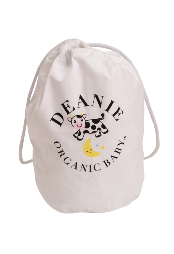 Cow That Jumped Over the Moon Logo Layette Bag