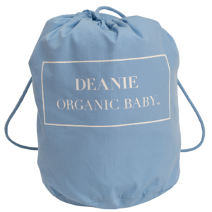 Deanie Organic Baby - Light Blue Layette Bag