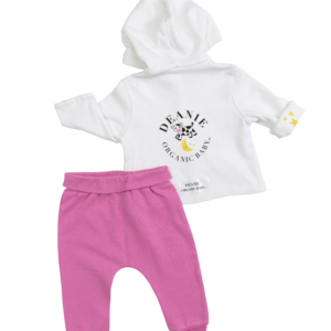 Pink & Cow Jumping the Moon Outfit - 2 Pieces